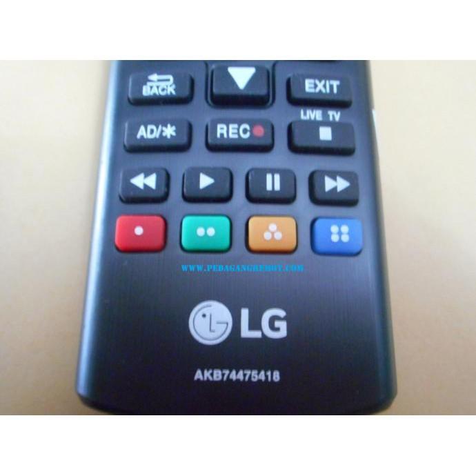 TERLARIS! Remot/Remote TV LG LCD-LED Original AKB74475418