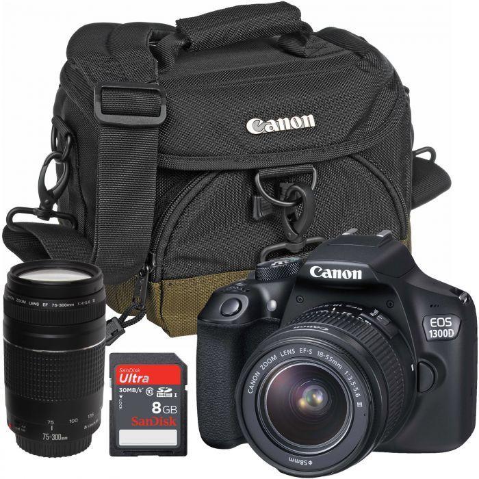 Canon EOS 1300D kit 18-55mm III Kamera DSLR Garansi Resmi 1` Tahun
