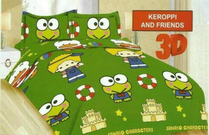 BEDCOVER SET BONITA KEROPPI AND FRIENDS No.1 KING 180 BCS BED COVER Exclusive