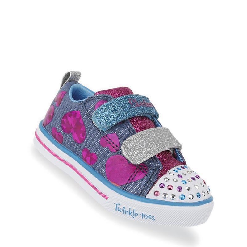 Skechers - Twinkle Toes  Sparkle Lite - Flutter Fab Sepatu Olahraga Sneakers  Anak Perempuan - 38b0c29344