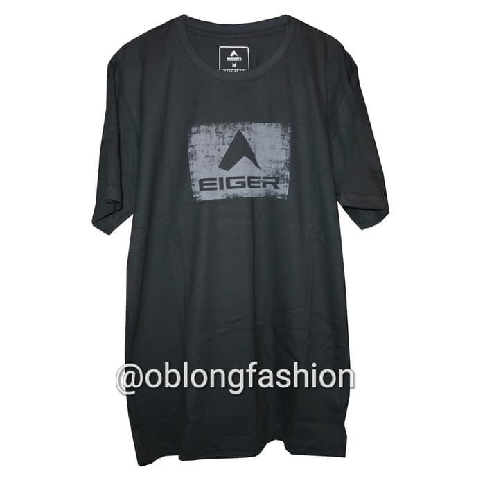 Kaos Eiger Raster Logo - Grey