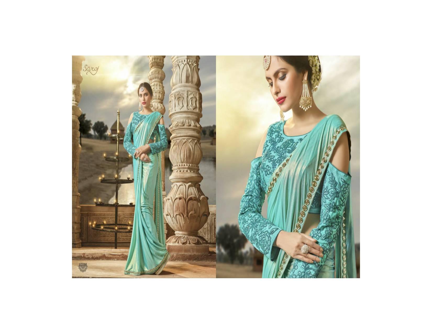 Janasheen by Saroj 3/ Saree Sari India Ori / Gamis India / Dress Impor