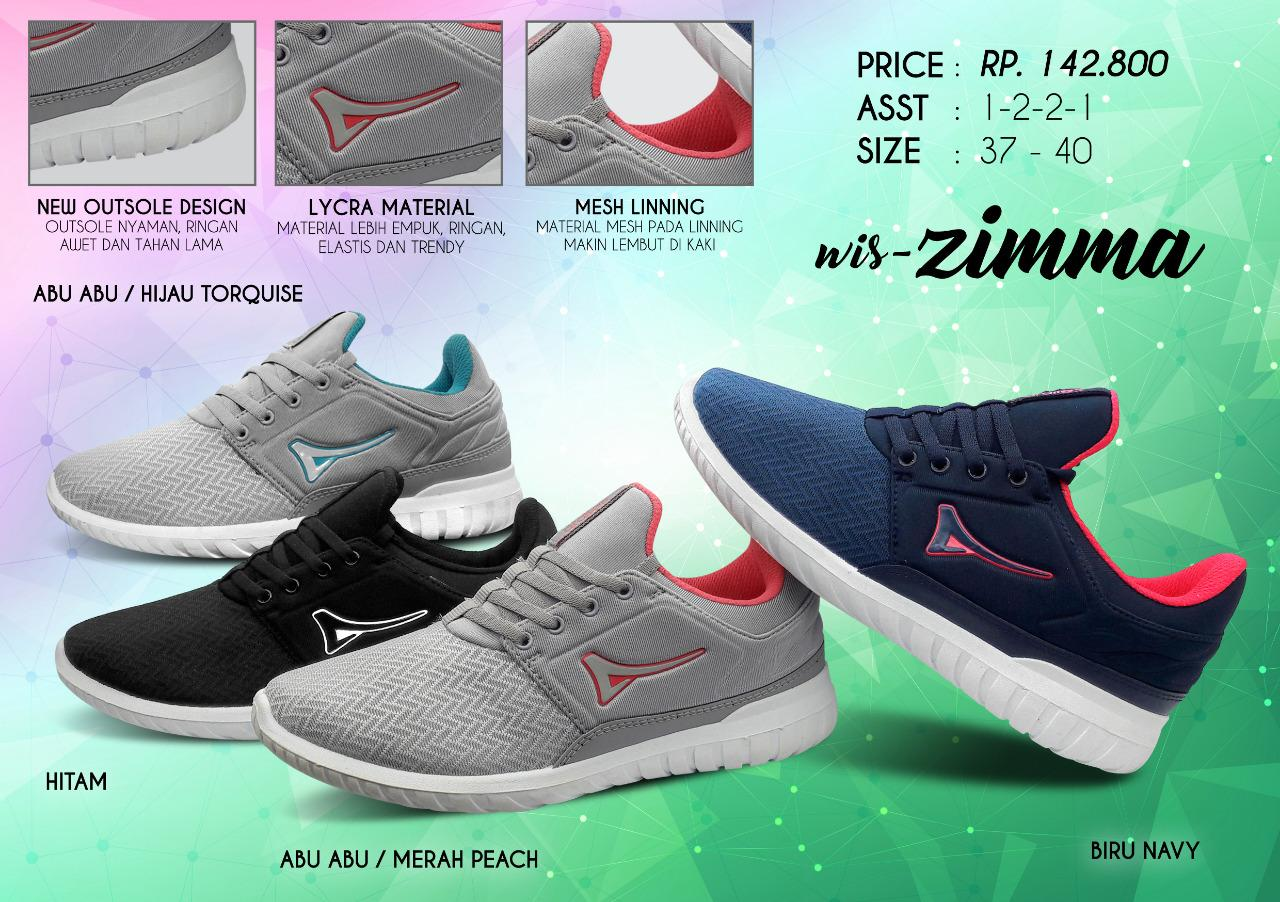 Ardiles Zimma - Sepatu Olahraga - Sepatu Wanita - Sneakers Wanita