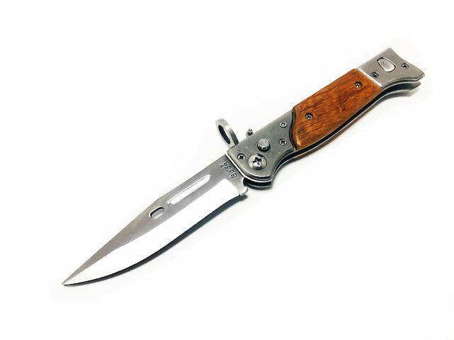 Pisau Knife Lipat Folding Ak 47 726c 22 Cm Automatic By Armor Military.
