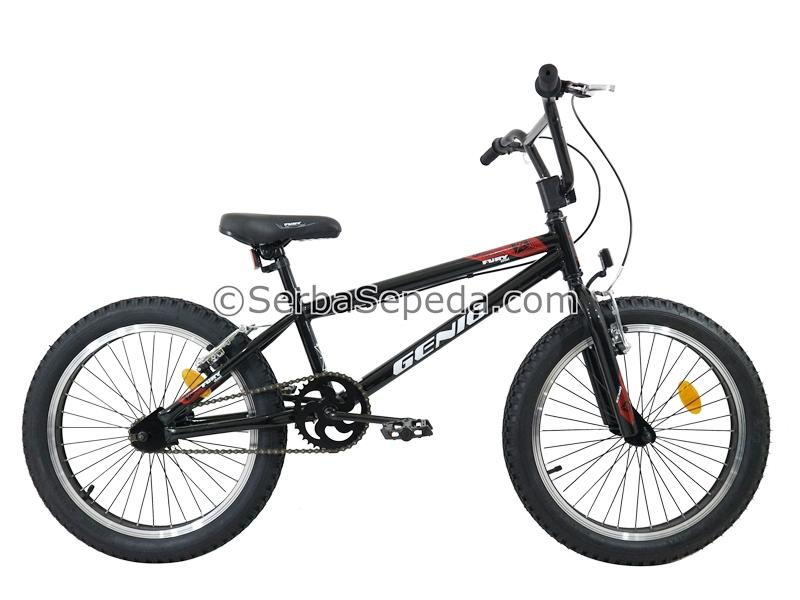 Genio Sepeda Bmx Fury Street 20 By Ss Bike Shop.