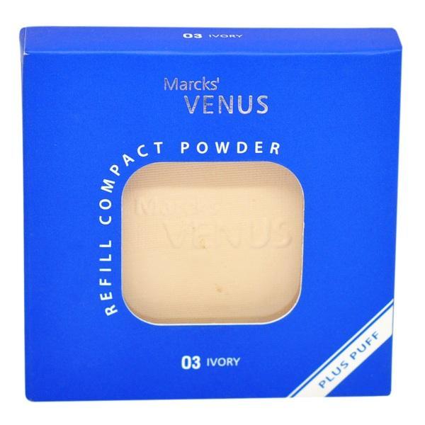 Marcks' Venus Compact Powder Refill No. 03 Ivory [12g]