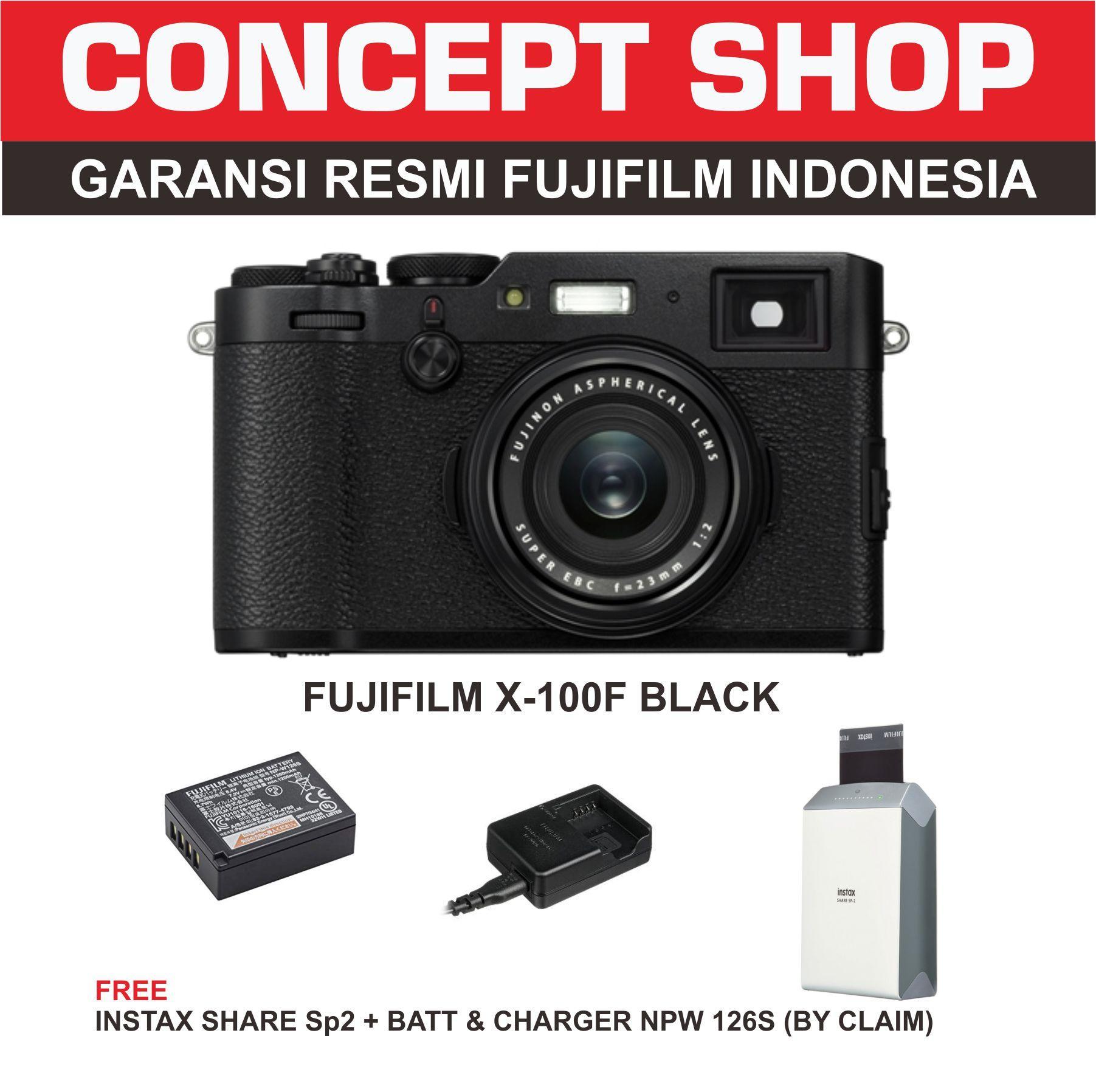 Fujifilm X100F Kamera Mirrorles - Black . x100 f . x 100f