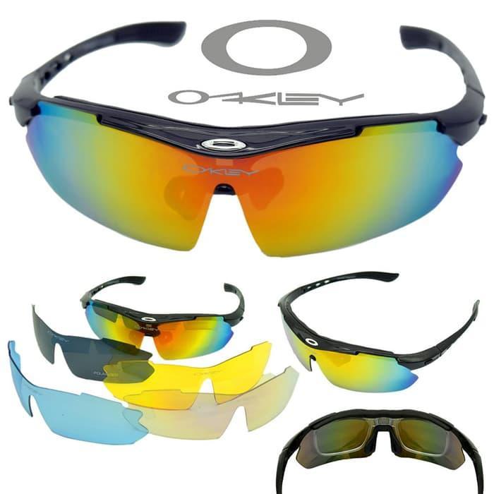 Kacamata Oakley OJ0089 Outdoor Sport Rider Anti Silau Include 5 Kaca 28e2a75c3b