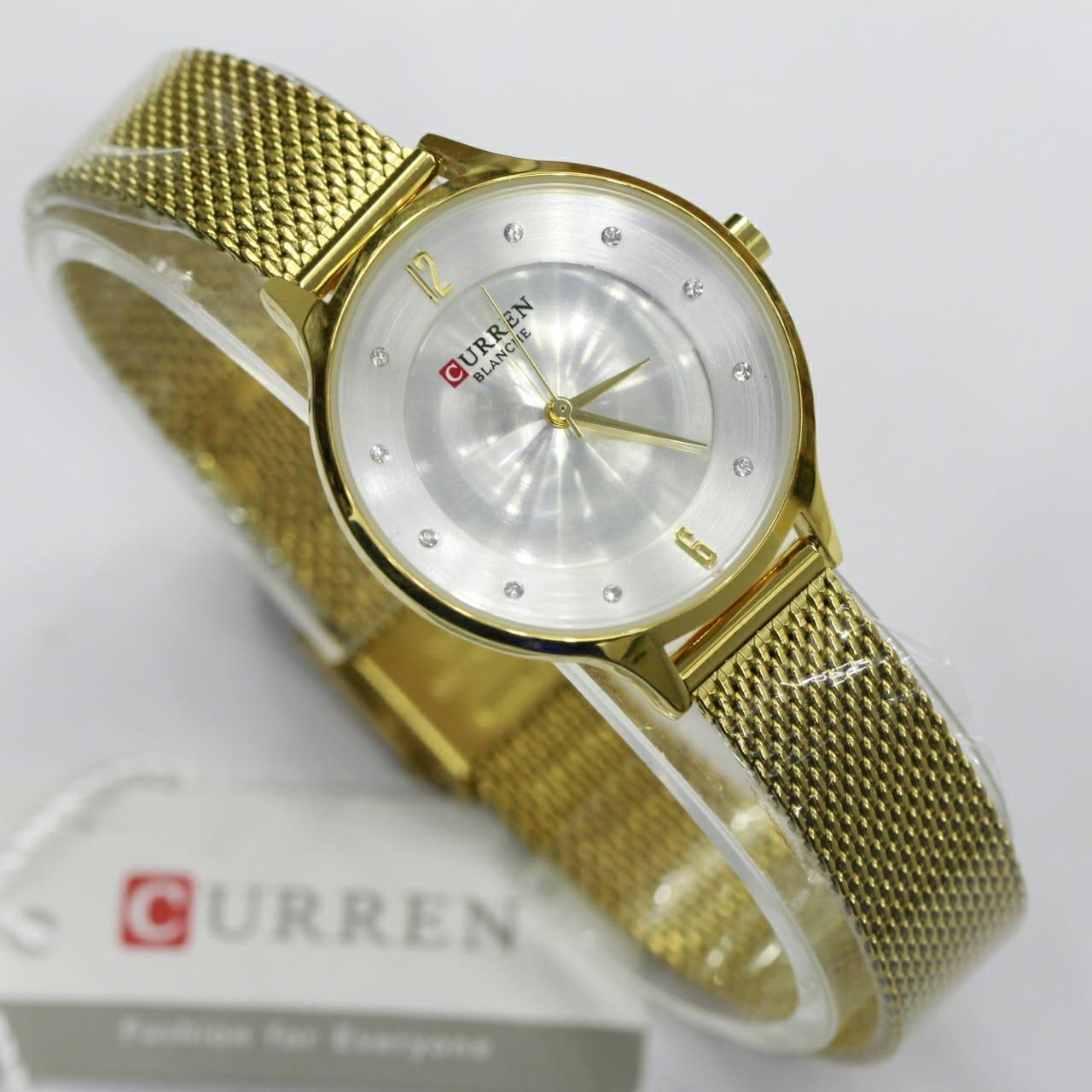 Buy Sell Cheapest Curren Jam Tangan Best Quality Product Deals 8139 Casual Style Watch Wanita 9036 Mesh Original