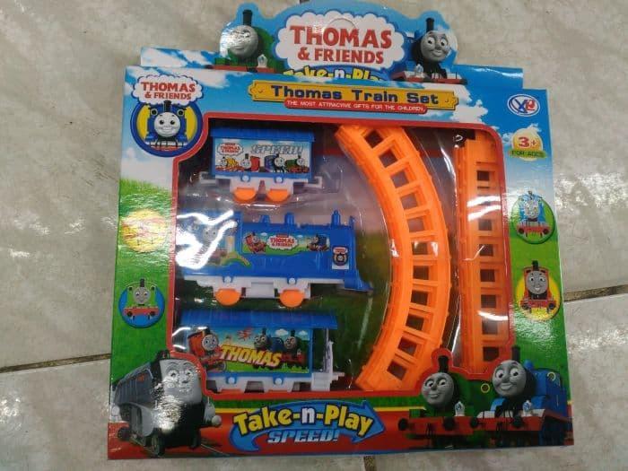 Mainan Anak thomas train Kereta Api a46ea8b077