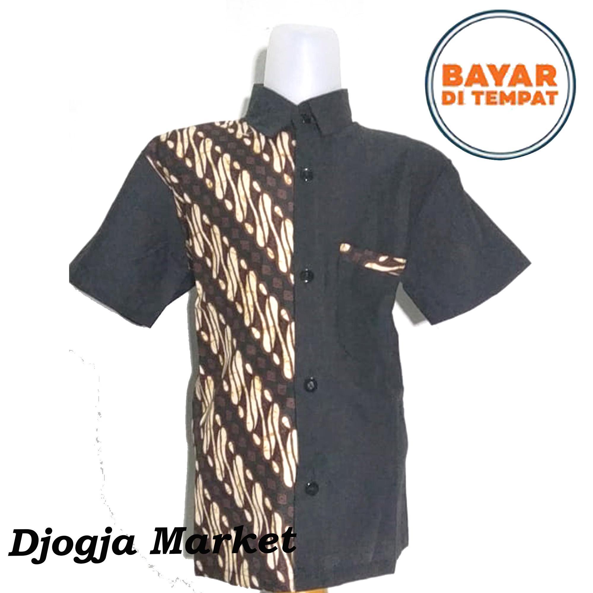 Djogja Market - Kemeja Batik Anak Model Premium BKN-001