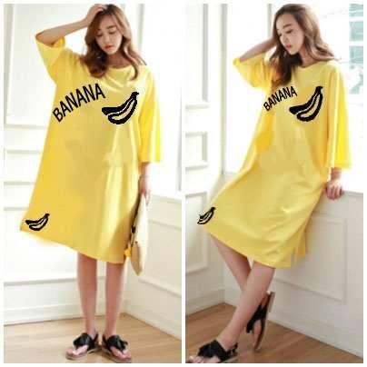 Fashionshop Dress Jumbo / Dress Korea / Dress Renda / Dress Brukat / Dress Midi / Dress Kaos Wanita