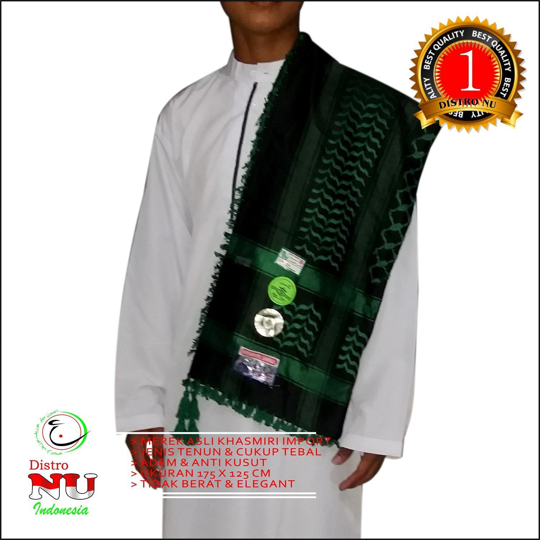 SORBAN TENUN KHASMIRI ORI RND XL / gamis songkok sekolah gesper azmi maiyah / nu peci hadroh atlas / sarung / gamis / baju muslim koko / jas / daster / dasi ...