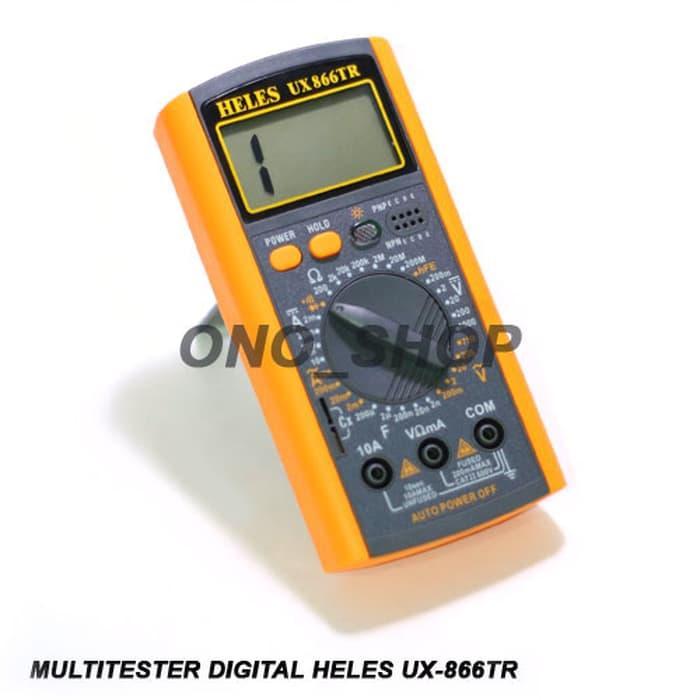 Promo Multitester Digital Heles UX-866TR Original