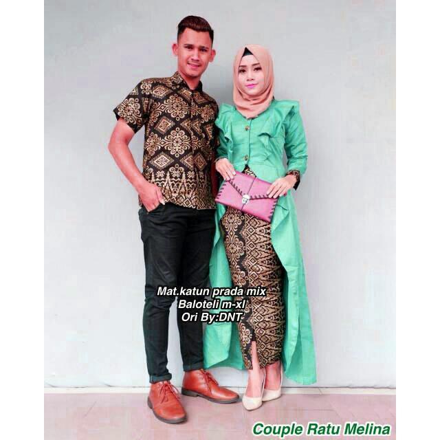 Likin Baju Batik / Batik Couple / Batik Sarimbit / Batik Pesta / Batik Keluarga Ratu Melina