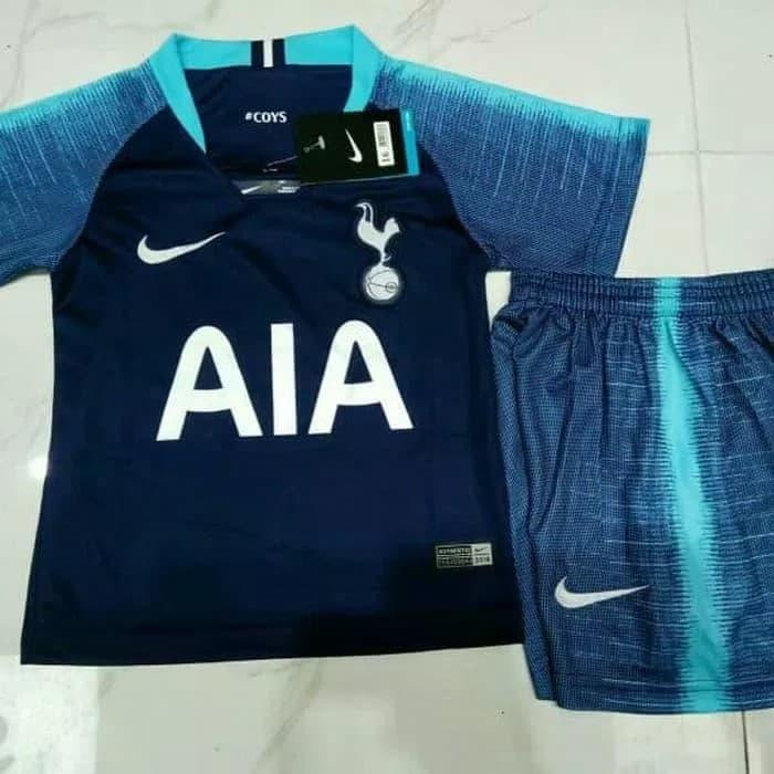 NEW - JERSEY BOLA KIDS / ANAK SPURS AWAY SEASON 2018-2019 PREMIUM OR