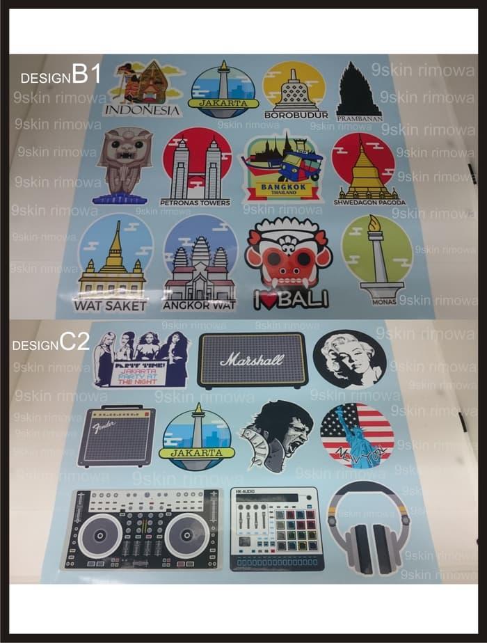 BEST SELLER!!! Sticker Koper Rimowa Design35