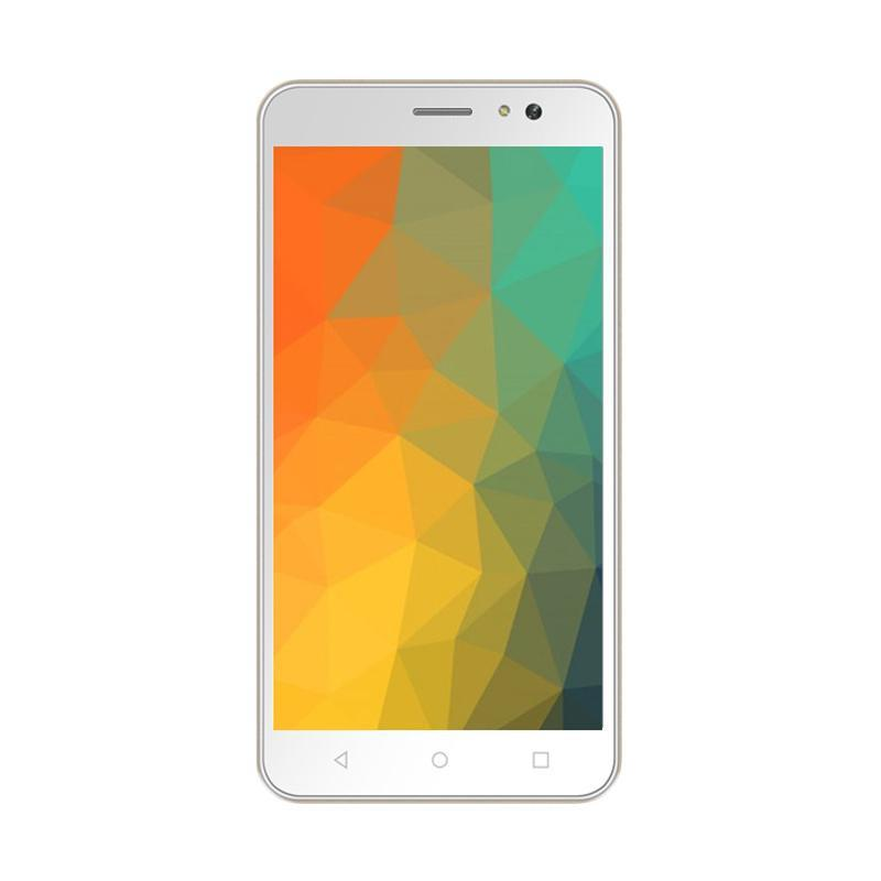 Advan S5E 4GS Smartphone - 1/8 GB - White Gold