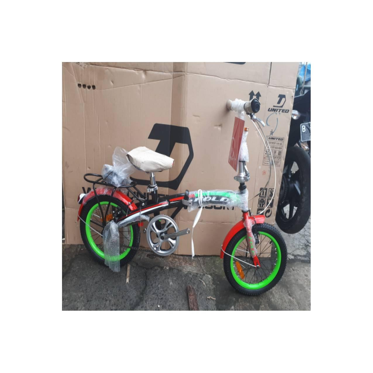 Sepeda 16 Lipat single speed Genio Click