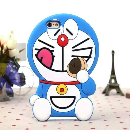 Case Boneka 3D for SAMSUNG GALAXY J1 MINI Karakter DORAEMON DORAYAKI Softcase_SHP-Y