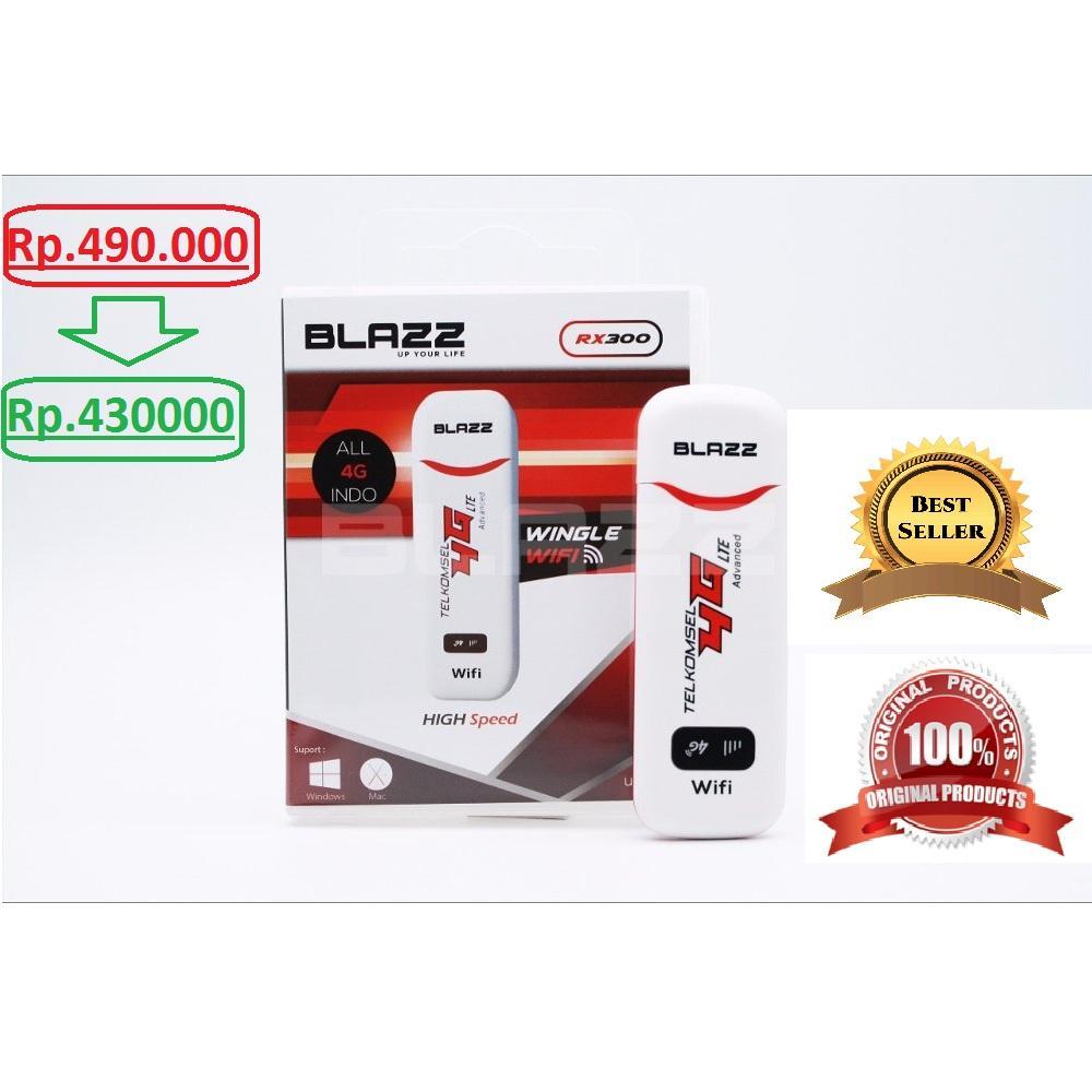 Beli Wifi Gsm 4g Store Marwanto606 Modem Blazz Rx300 Lte Unlock All Operator Indonesia Usb Wingle 300mbp S