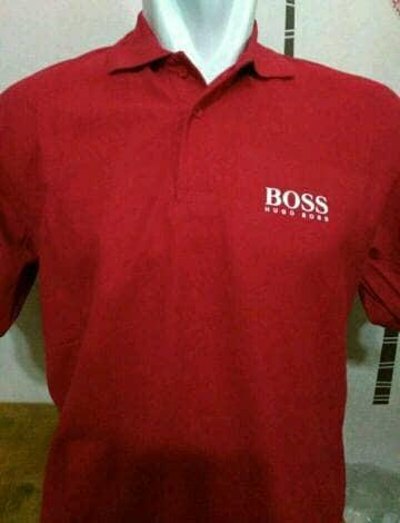 HARGA DISKON!!! Kaos Kerah Big Size Boss/ Polo Shirt Hugo Boss 2XL, 3XL, 4XL - IaDhEw