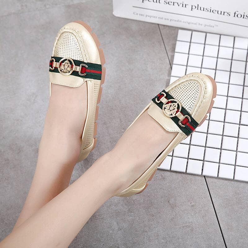 Sepatu Gucci Vase #9065-85A Kualitas: Semi Premium