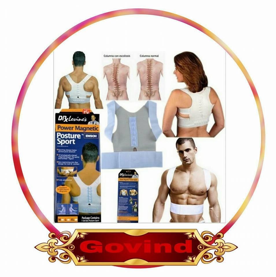Diskon Untuk Harga Murah Terapi Penyangga Tulang Punggung Bengkok Korset Belakang Power Magnetic Posture Sport By Emson Kesehatan Perbaiki