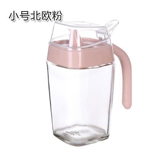 Ukuran besar/L warna polos pot minyak kaca dapur dengan botol minyak botol minyak wijen Anti Bocor Botol Minyak kecap botol bumbu botol minyak botol cuka