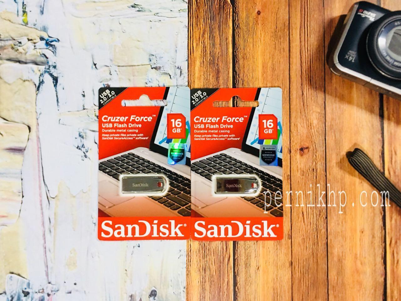 Jual Morkz Flashdisk Sandisk Cruzer Blade Cz50 16gb Harga Rp 55000 Original Force