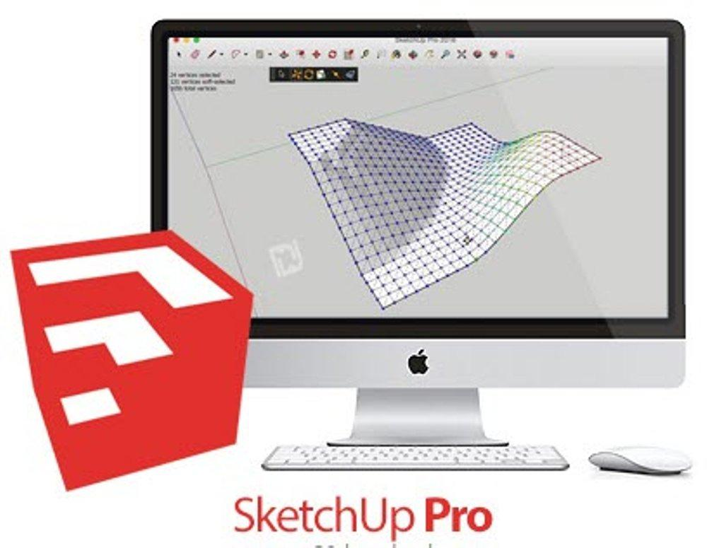 SketchUp Pro 2017 Khusus MAC OSX Full Version