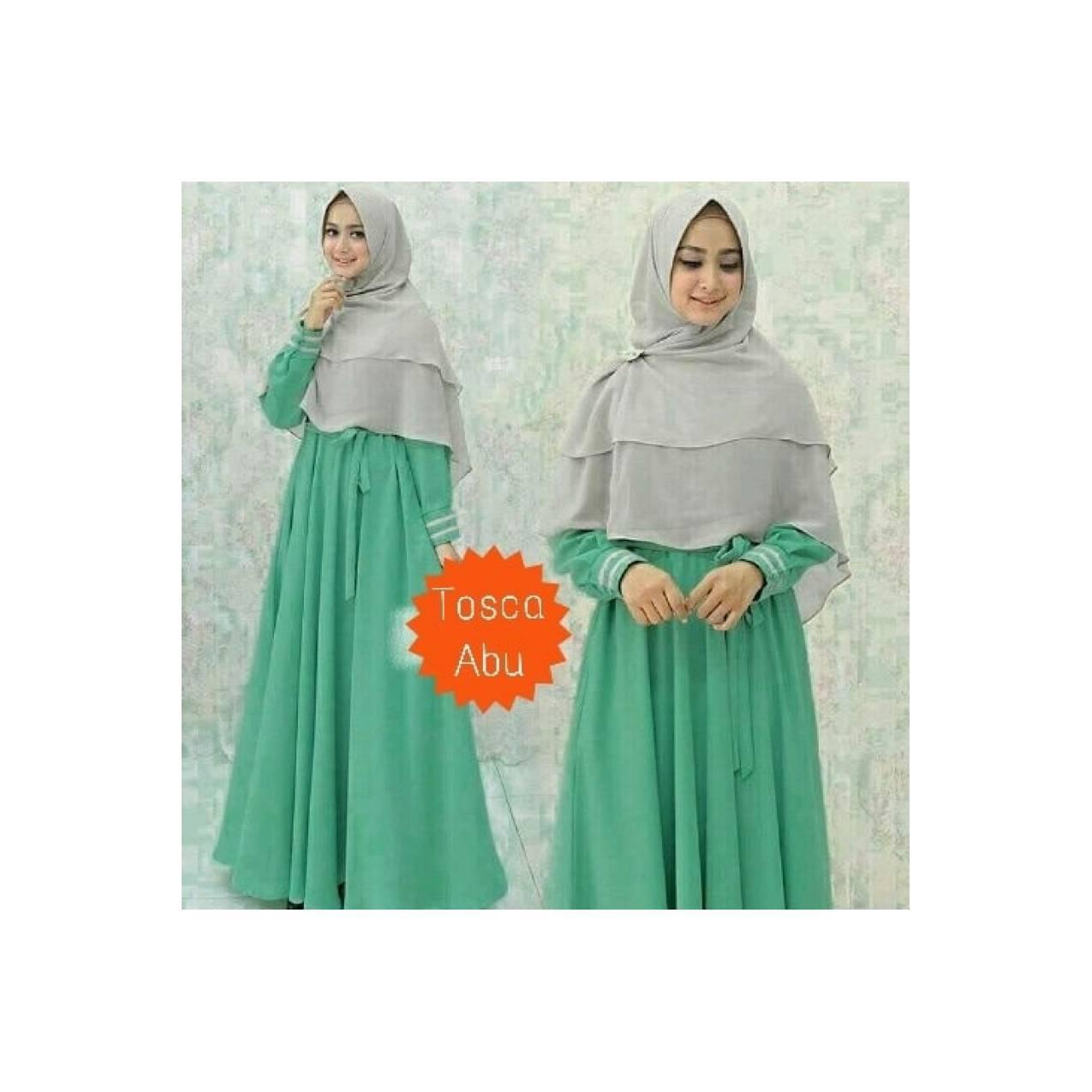 GAMIS MODERN baju muslim pesta gamis yunmina aneka warna 2 dress maxi