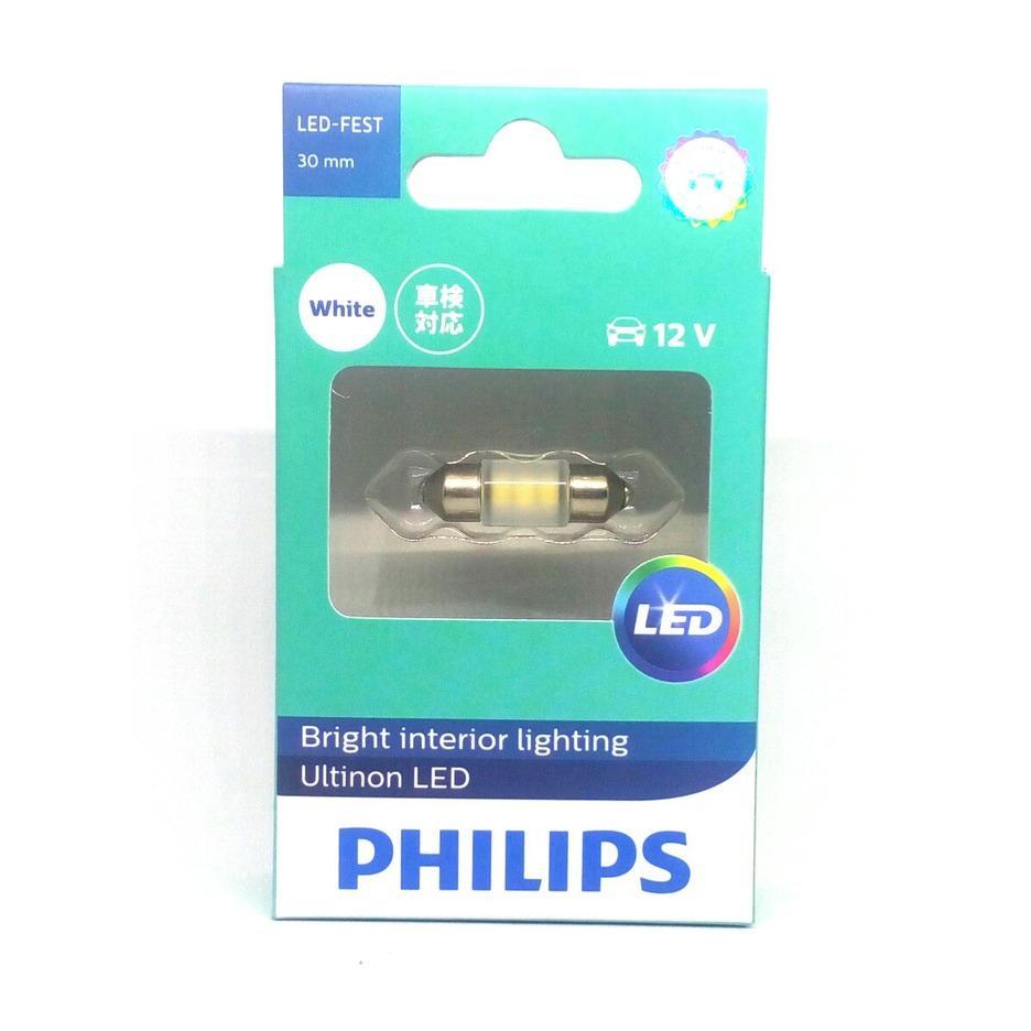 Philips Vision LED Festoon 30mm 6000K (Lampu Interior Plafon Kabin Mbl