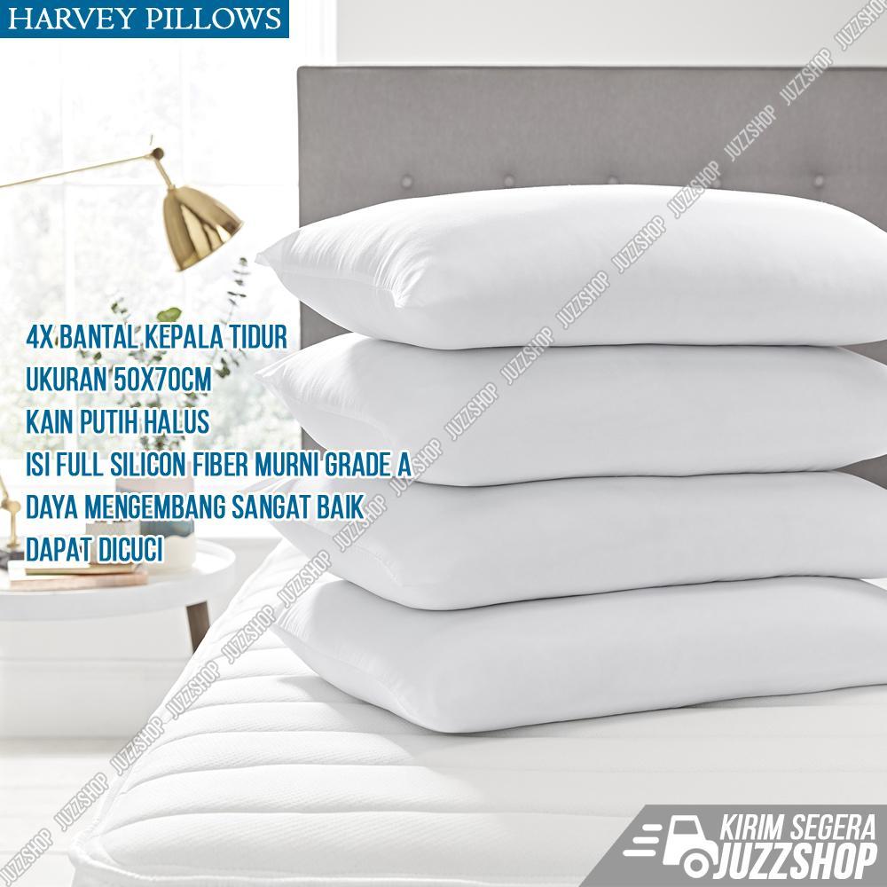 Jual Bantal Terbaik Terlengkap Pasir Panas Terapi Harvey Pillows Set 4 Tidur