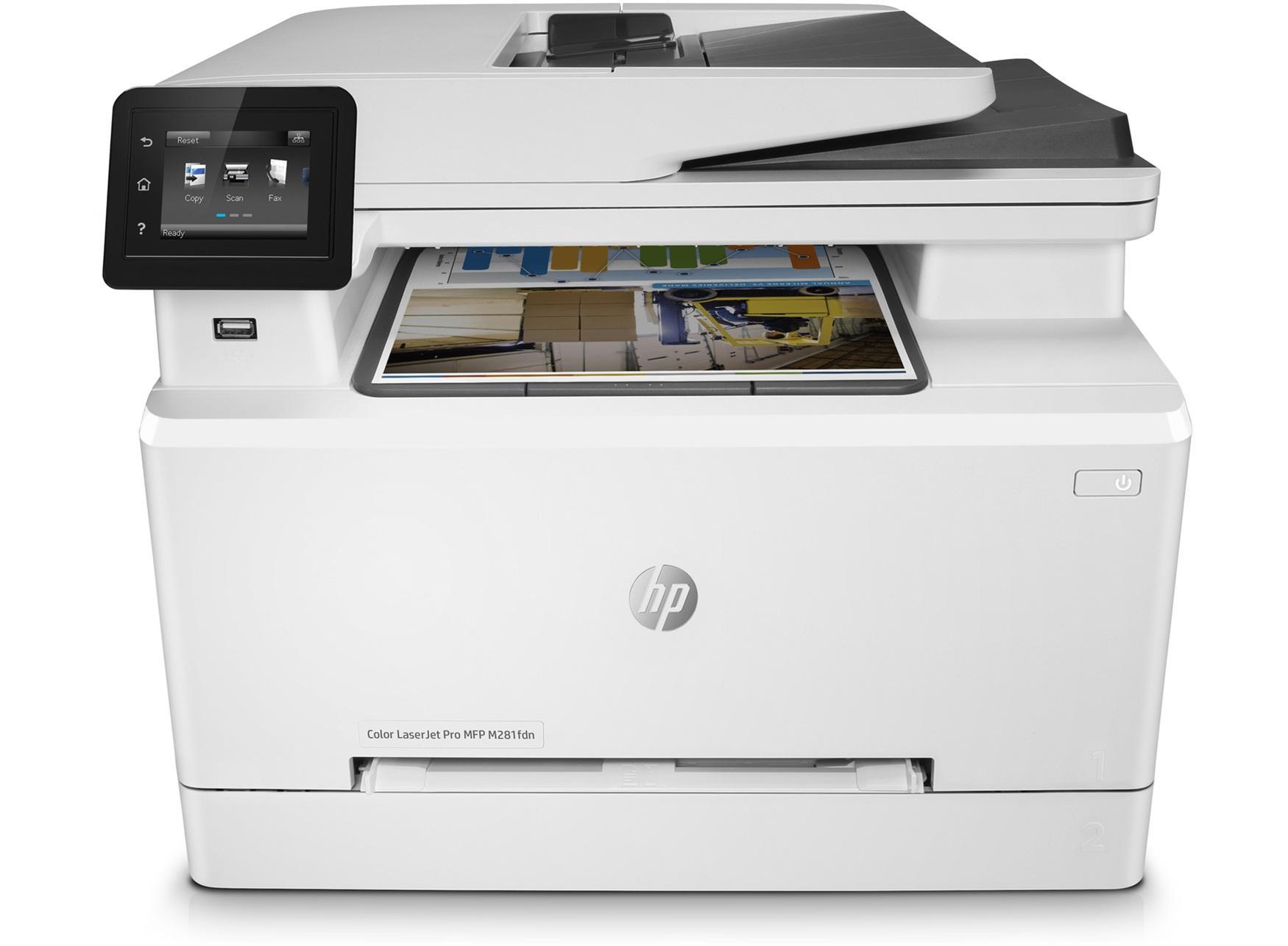 HP PRINTER LASERJET PRO MFP M281FDN ALL-IN-ONE FAKS DUPLEX NETWORK COLOR (T6B81A)