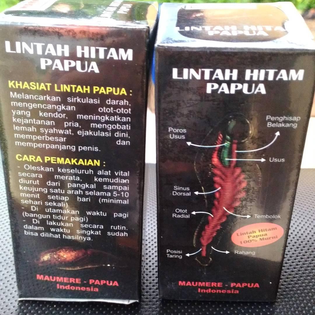[BEST SELLER] 2 pcs Obat Herbal_Permanen Original Lintah_Minyak_Papua Hitam Isi 60 ml Asli