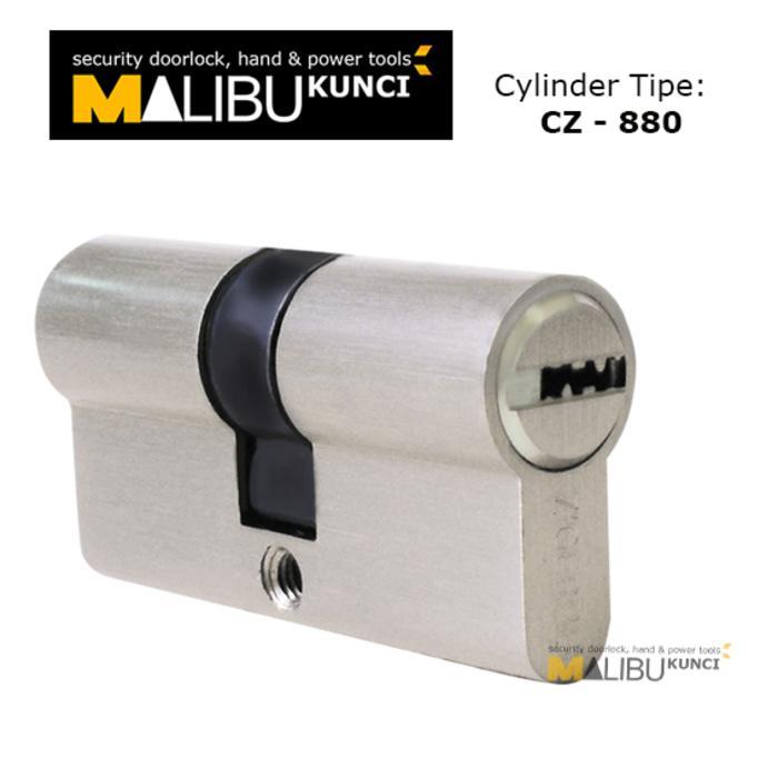 CZG-880 cylinder, silinder pintu, silinder kunci, handle pintu gerber