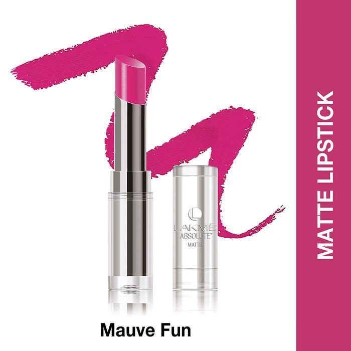 Lakme Absolute Reinvent Sculpt New Hi-Definition Matte Lipstick Mauve Fun