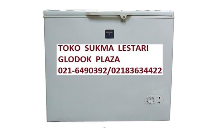HARGA DISKON!!! Chest Freezer/Freezer box Sharp FRV300 - 1L9qMb