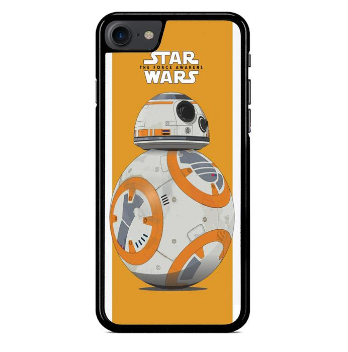 Bb8 Force Awaken Star Wars Movies E1107 iPhone 7 Custom Hard Case