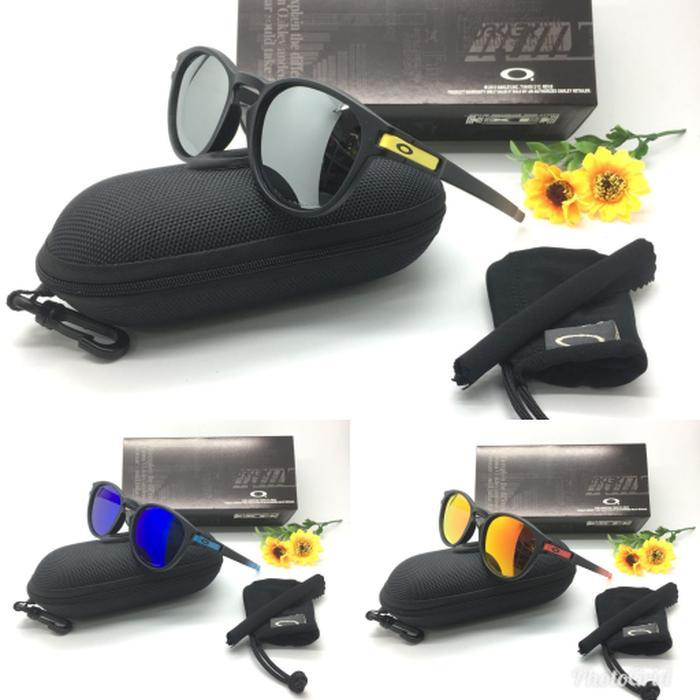 Hemat 10%!! Kacamata Sporty Pria Oakley Latch 009265 Fullset Size 53-18-138 - ready stock