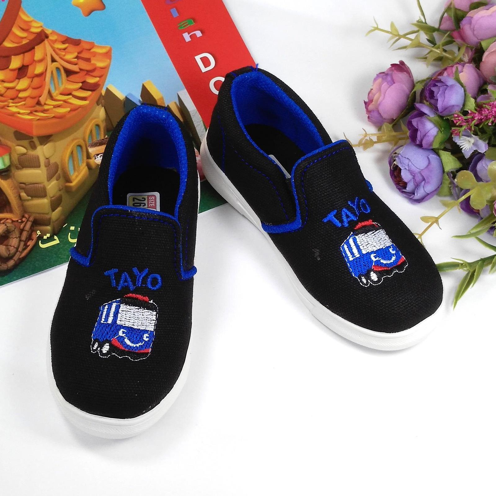 Sepatu Slip On Anak Laki Katalog Tayo Lelaki Hqo Cowok Casual