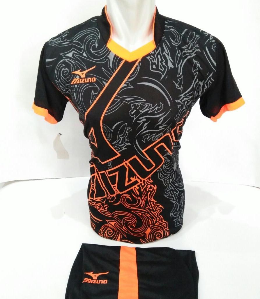 Baju Olahraga Jersey Sepak Bola Kaos Setelan Futsal / Volly / Badminton Mizuno