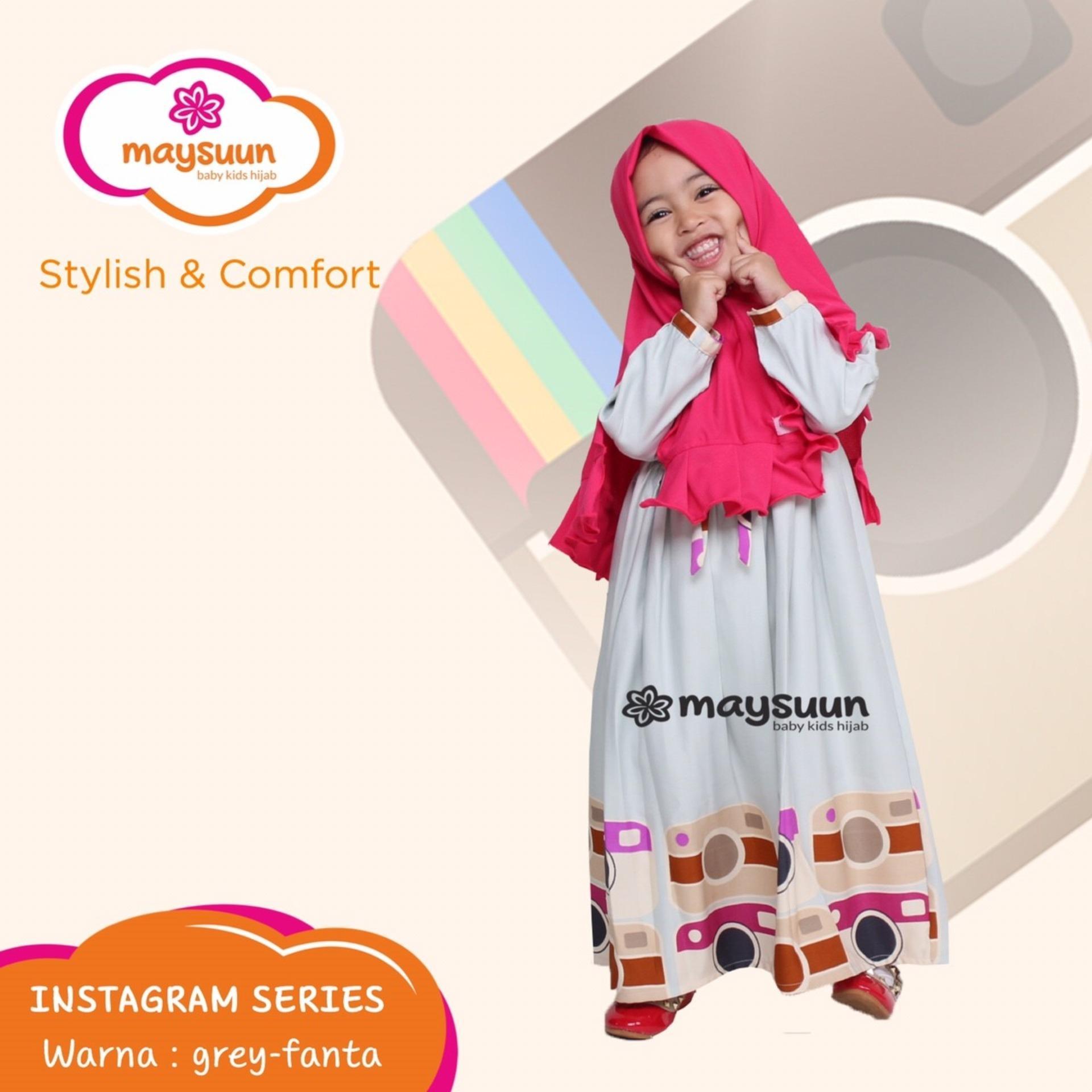 TERBARU Baju Muslim Tunik Anak Perempuan Modern Setelan Celana 1 2 Thn Rp Ke Toko