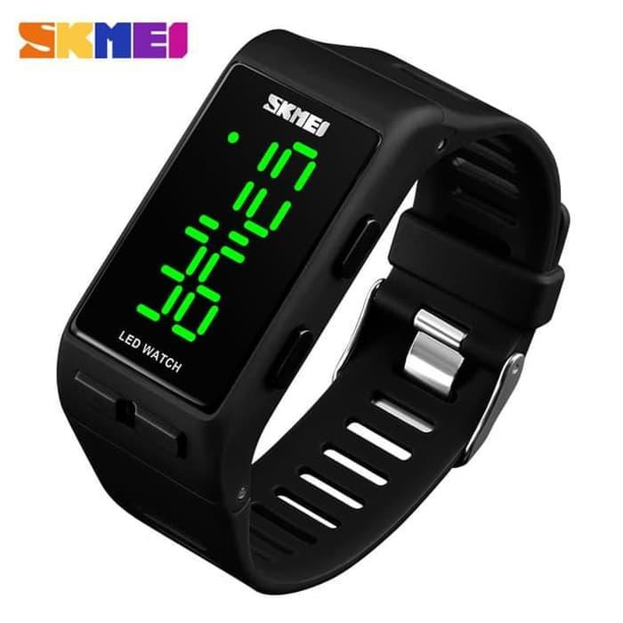 $$PROMO$$ Jam Tangan Gelang Pria / Wanita LED Watch SKMEI 1364 Original