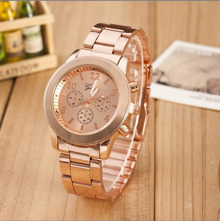 GENEVA 260 Jam Tangan Wanita Analog Fashion Casual Women Strap Stainless  Steel Wrist Quartz Watch c2e433ca8b