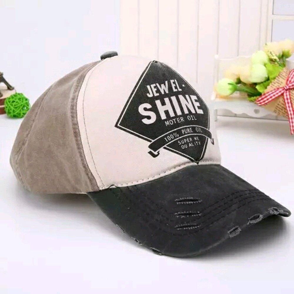 Topi Distro Baseball Shine Import Ori - Grey di lapak Topi KanBaru topikanbaru