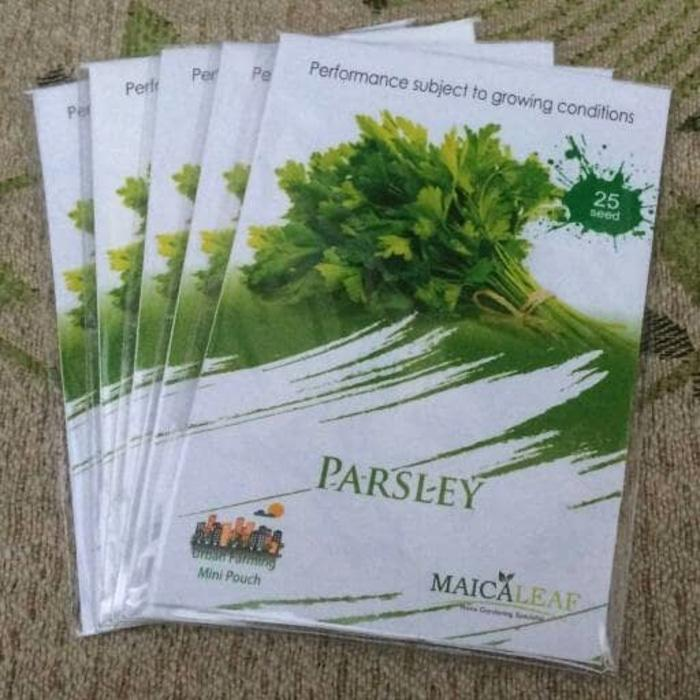 SPESIAL Benih Bibit Parsley Paterseli Merk Maica Leaf ORIGINAL PACKING