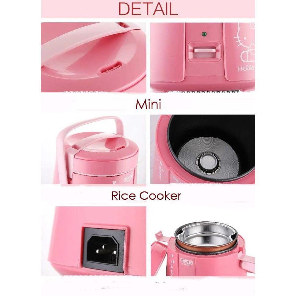 Termurah Dan Terlaris Mini Rice Cooker Helo Kitty