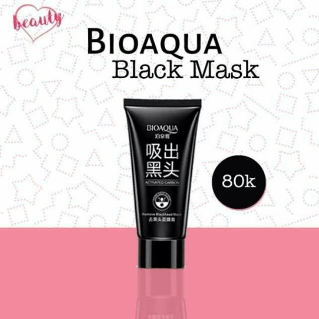 Bioaqua Charcoal Mask  Review STOK TERBATAS